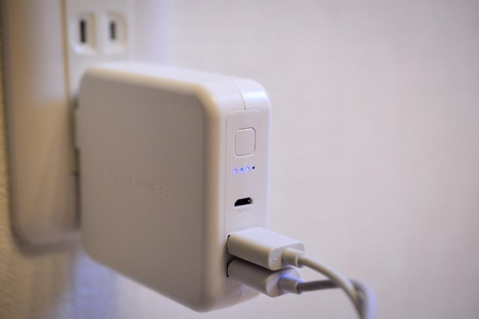 おすすめモバイルバッテリー_2つ同時充電ができる