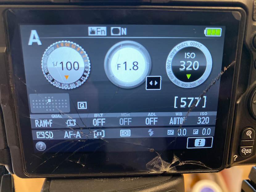 私のカメラ設定_ISO感度の調整