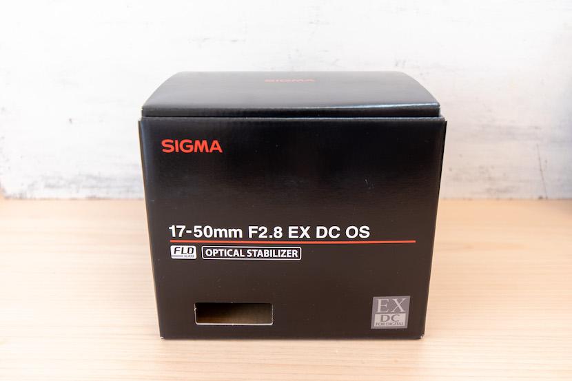SIGAM1750レビュー_外箱