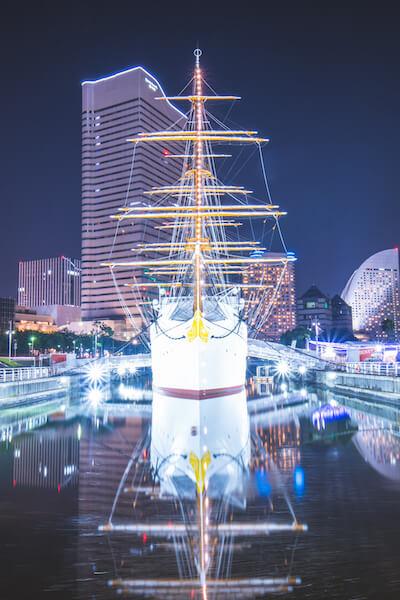 TAMRON1024作例_日本丸の夜景
