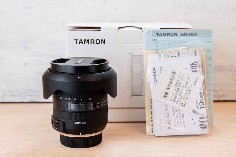 Tamron(タムロン)10−24レビュー_外箱2